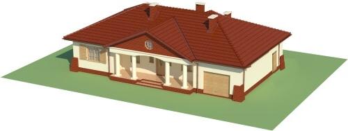 Projekt domu L-6079 - model