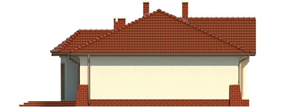 Projekt domu L-6079 - elewacja