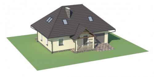 Projekt domu L-6083 - model