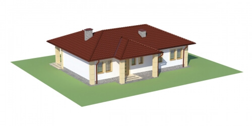Projekt domu L-6087 - model