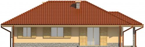 Projekt domu L-6097 - elewacja