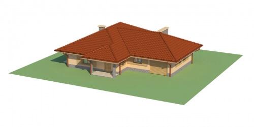 Projekt domu L-6097 - model