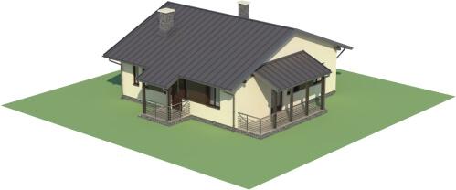 Projekt domu L-6101 - model