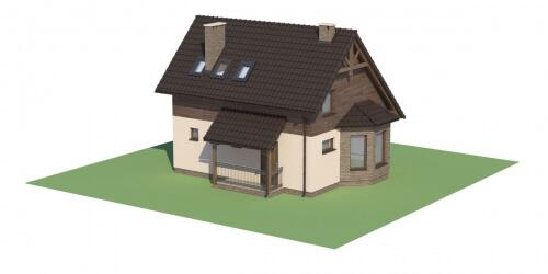 Projekt domu L-6105 - model