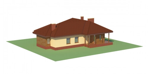 Projekt domu L-6107 - model