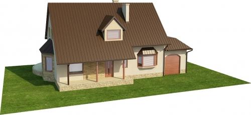 Projekt domu L-6110 - model