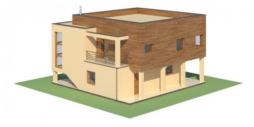 Projekt domu L-6112 - model