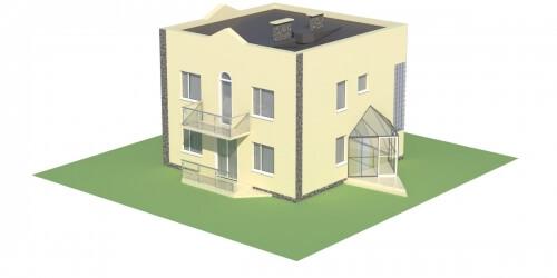 Projekt domu DM-5591 - model
