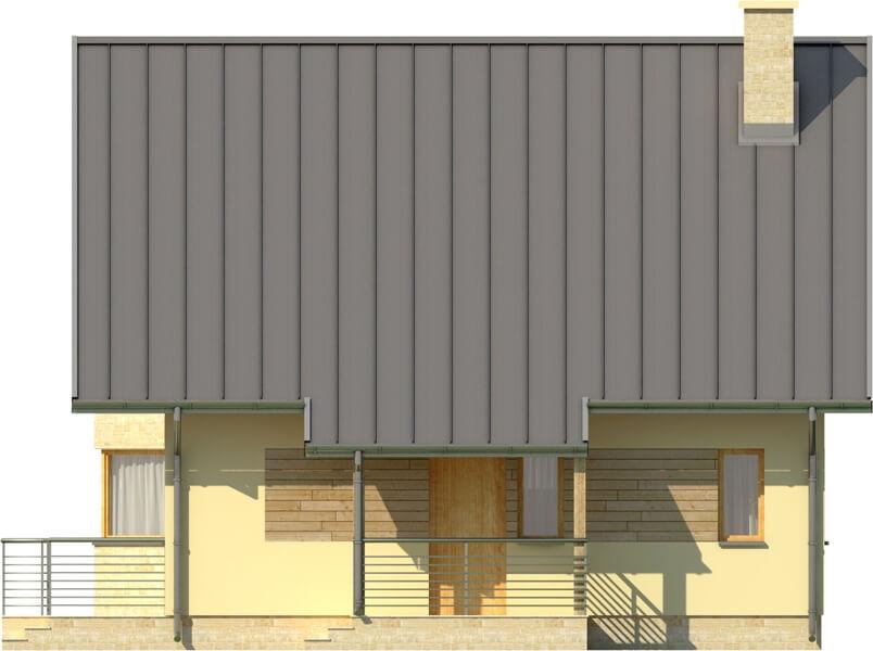 Projekt domu L-6122 - elewacja