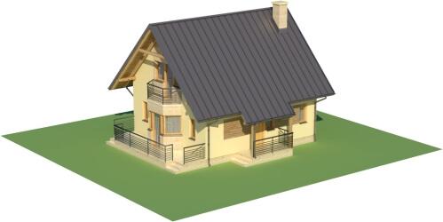 Projekt domu L-6122 - model