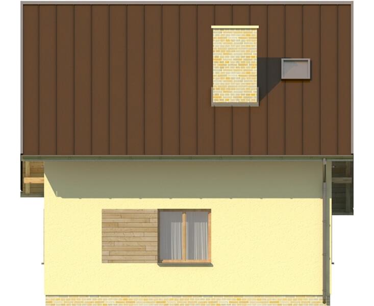 Projekt domu L-6130 - elewacja