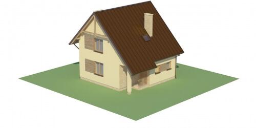 Projekt domu L-6130 - model