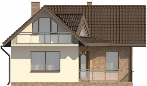 Projekt domu L-6131 - elewacja