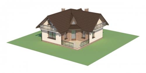 Projekt domu L-6131 - model