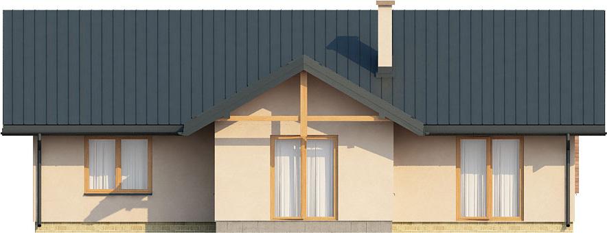 Projekt domu L-6141 - elewacja