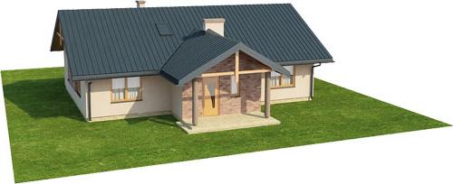 Projekt domu L-6141 - model