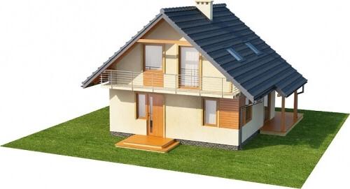 Projekt domu L-6143 - model