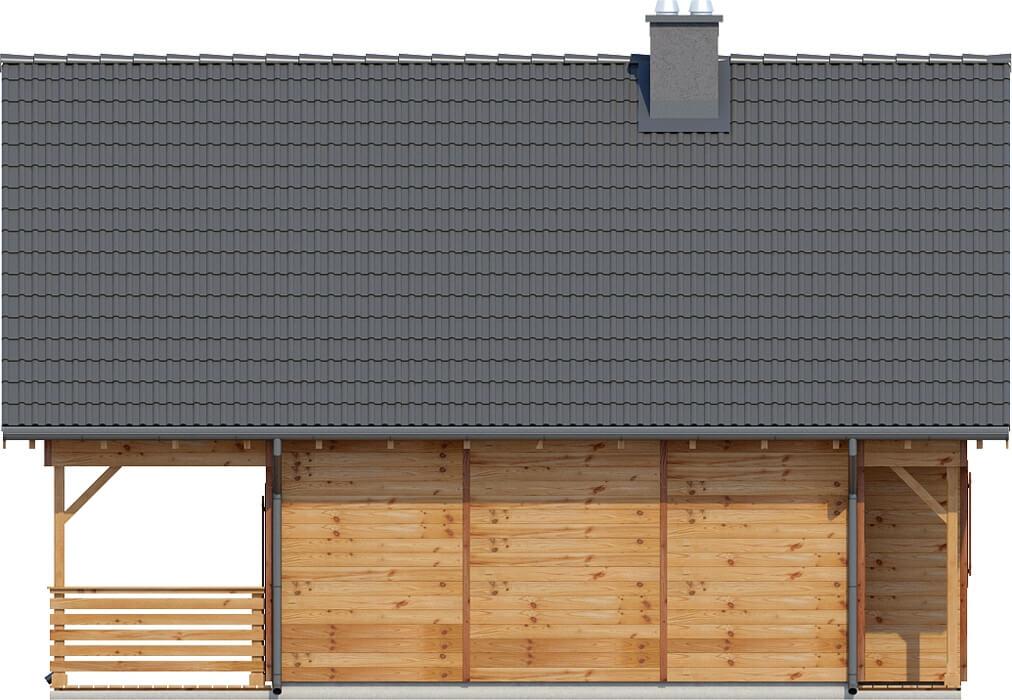 Projekt domu L-6152 - elewacja