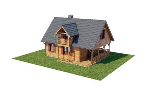 Projekt domu L-6152 - model