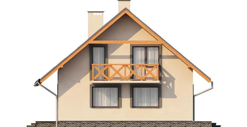 Projekt domu L-6156 - elewacja