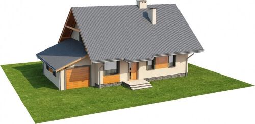 Projekt domu L-6156 - model