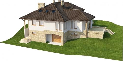 Projekt domu L-6158 - model
