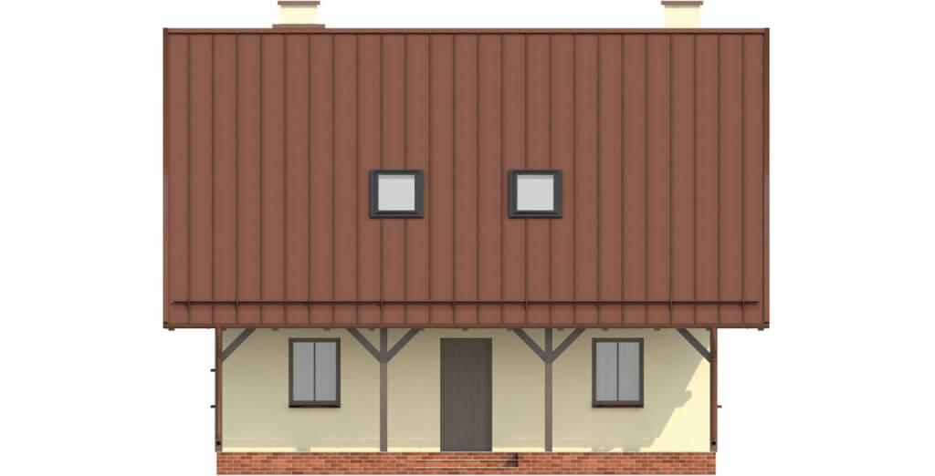 Projekt domu L-6159 - elewacja