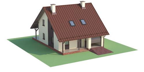 Projekt domu L-6159 - model
