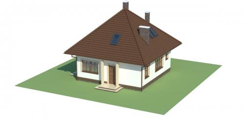 Projekt domu DM-5597 - model