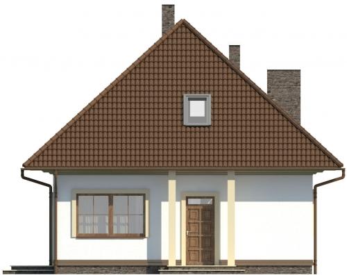 Projekt domu DM-5597 - elewacja