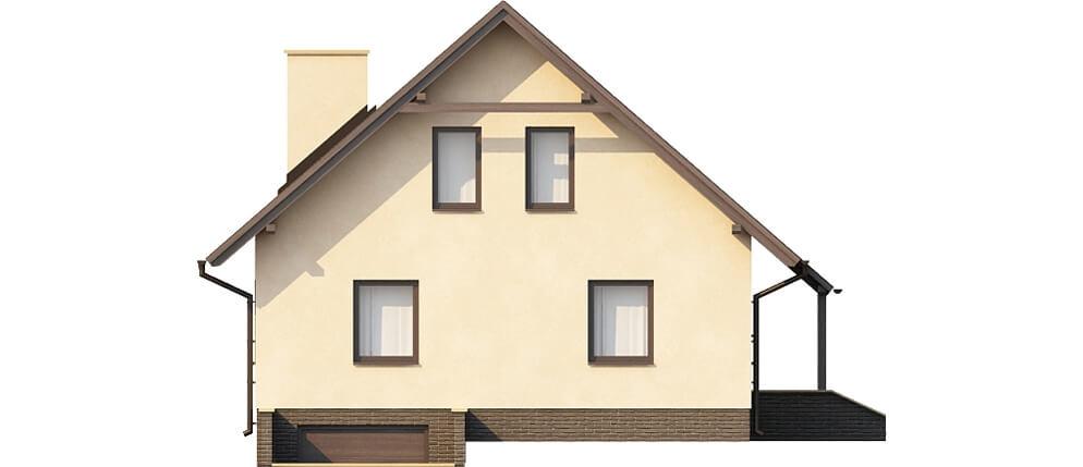 Projekt domu L-6164 - elewacja