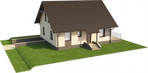 Projekt domu L-6164 - model
