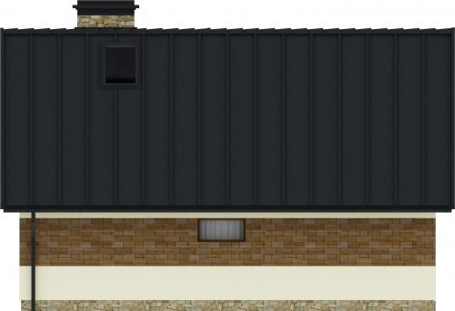 Projekt domu L-6165 - elewacja
