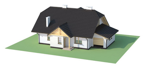 Projekt domu L-6167 - model