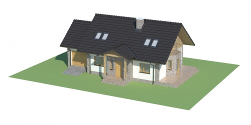 Projekt domu L-6168 - model