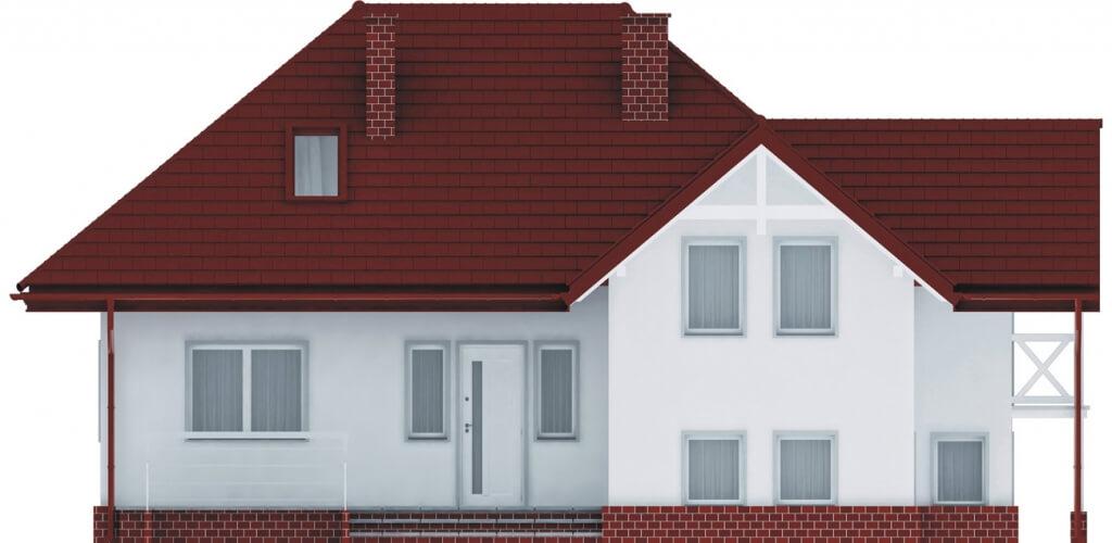 Projekt domu L-6169 - elewacja