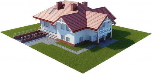 Projekt domu L-6169 - model