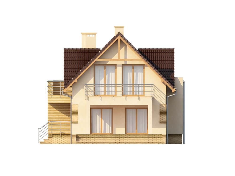 Projekt domu L-6170 - elewacja