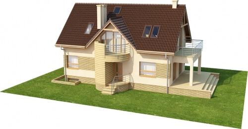 Projekt domu L-6170 - model