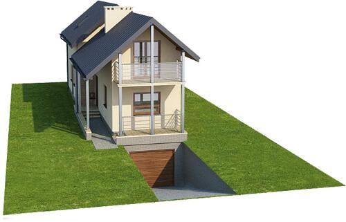 Projekt domu L-6172 - model