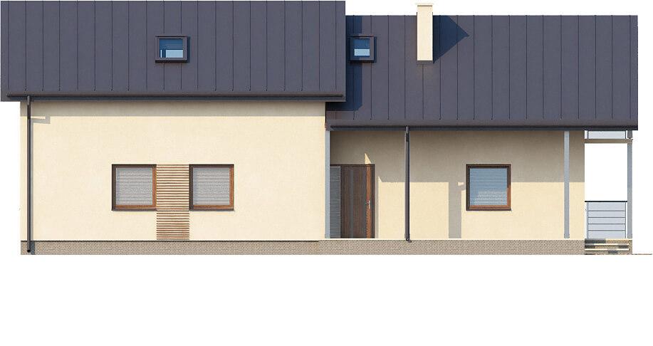 Projekt domu L-6172 - elewacja
