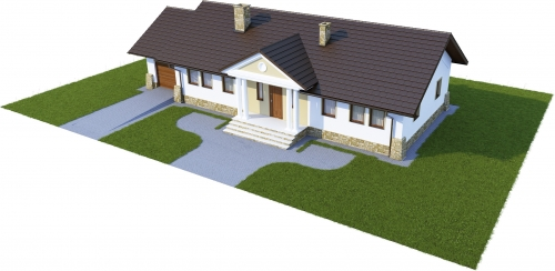 Projekt domu L-6178 - model