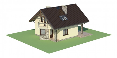 Projekt domu L-6180 - model