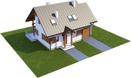 Projekt domu L-6183 - model