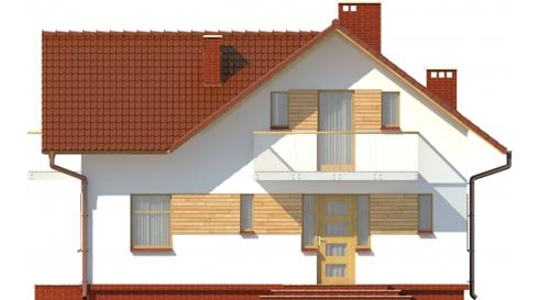 Projekt domu DM-6004 - elewacja