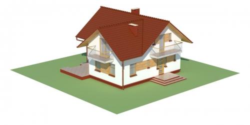 Projekt domu DM-6004 - model