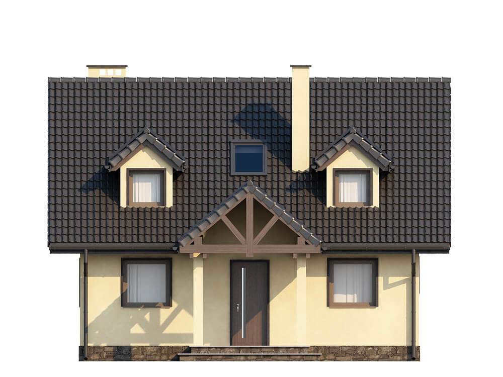 Projekt domu L-6187 - elewacja