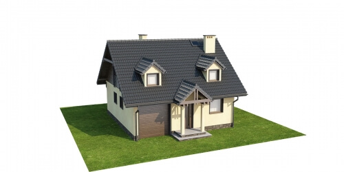 Projekt domu L-6187 - model