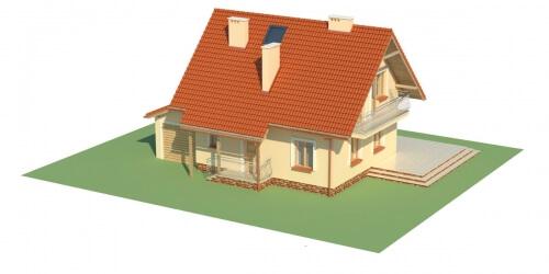 Projekt domu L-6190 - model