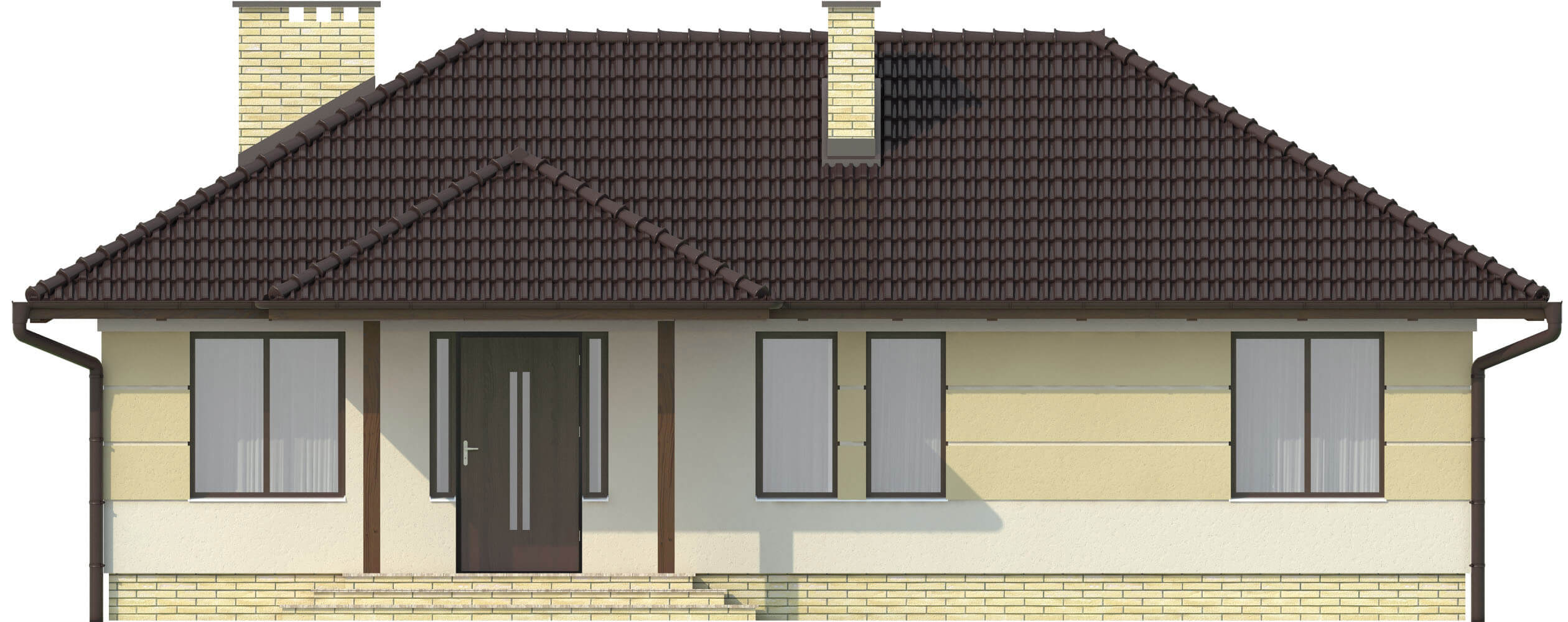 Projekt domu L-6191 - elewacja